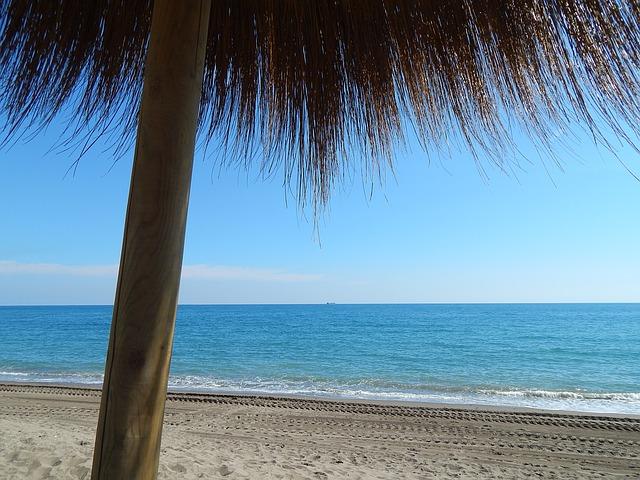 Malaga homokos strand