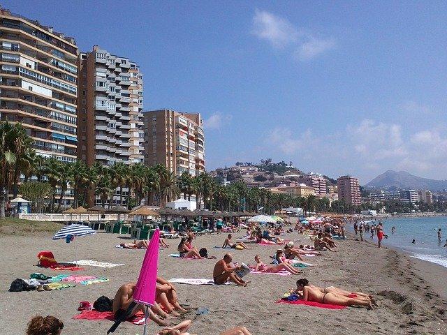 Malaga strandja