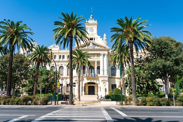Malaga belvárosa