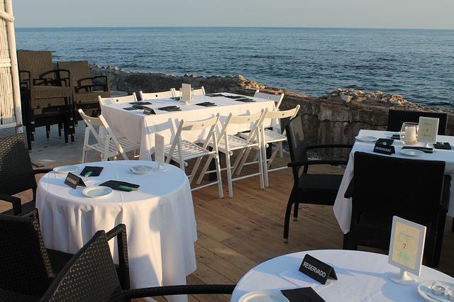 Romantikus étterem Malagában