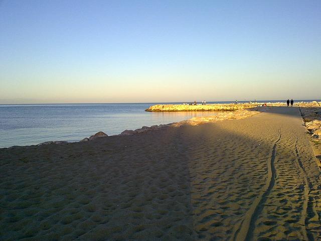 Malaga tengerpartja