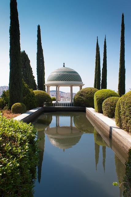 La Concepción botanikus kert Malagában