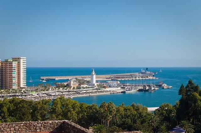 Malaga kikötője