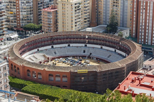 Malaga bikaviadal aréna